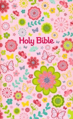ICB Sequin Compact Bible, Pink   -