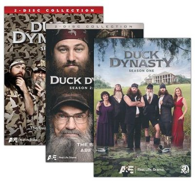 Duck Dynasty DVD Seasons 1-3, 3 volumes  -