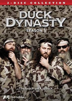 Duck Dynasty Season 3 DVD   -