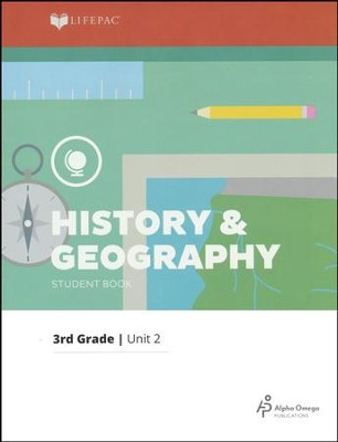 LIFEPAC History & Geography Student Book Grade 3 Unit 2 2011 Edition: New England States  -