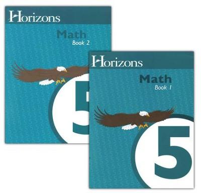Horizons Math 5 Student Books 1 & 2   -