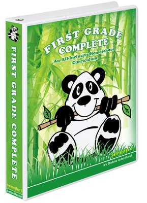 First Grade Complete Teacher's Manual (Including Student Workbook Semester One)  -