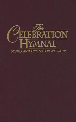 The Celebration Hymnal, Burgundy   -