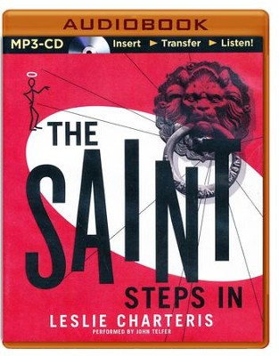 #24: The Saint Steps In - unabridged audio book on CD  -     Narrated By: John Telfer     By: Leslie Charteris
