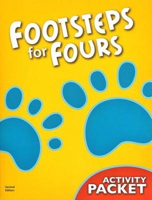 BJU K4 Footsteps for Fours, Student Activity Packet, 2nd Edition    -