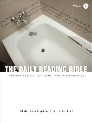 The Daily Reading Bible (Volume #2)  -