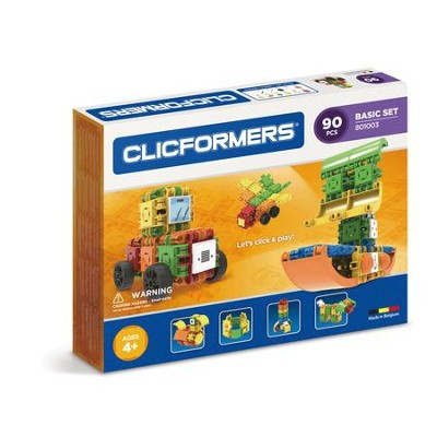 Clicformers Basic, 90 Piece Set  -