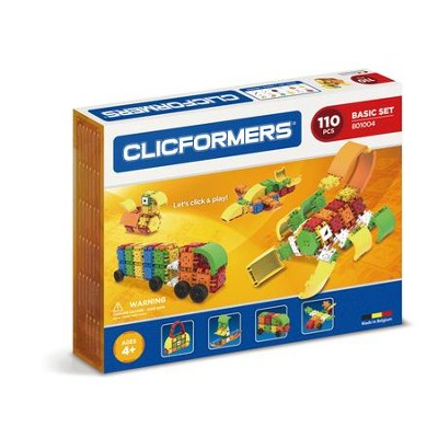 Clicformers Basic, 110 Piece Set  -