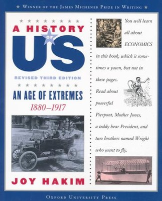 An Age of Extremes: 1880-1917 A History of US Book 8   -     By: Joy Hakim
