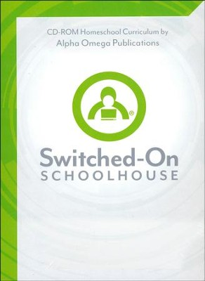 Grade 8 Core 4-Subject Set, Switched-On Schoolhouse  -