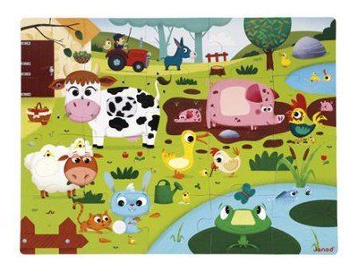 Farm Animals Puzzle, 20 Pieces  -