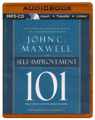 Self Improvement 101: What Every Leader Needs to Know - unabridged audio book on MP3-CD  -     By: John C. Maxwell