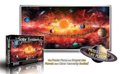 The Solar System and Beyond, 500 Piece Puzzle   -