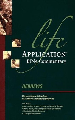 Hebrews: Life Application Bible Commentary   -     By: Bruce Barton