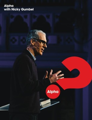 Alpha with Nicky Gumbel DVD set   -