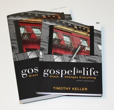 Gospel in Life Pack, DVD & Participant's Guide Grace Changes Everything  -     By: Timothy Keller