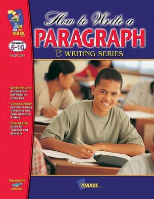 How to Write a Paragraph Gr. 5-10 - PDF Download  [Download] -