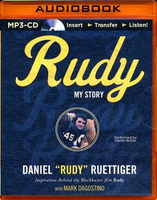 Rudy: My Story - unabridged audio book on MP3-CD  -     By: Rudy Ruettiger