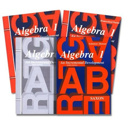 Saxon algebra 1 homeschool kit with solutions manual 3rd edition saxon algebra 1 homeschool kit with solutions manual 3rd edition fandeluxe Choice Image
