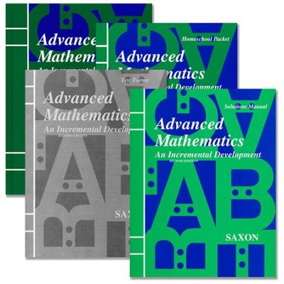 Saxon Advanced Math Homeschool Kit with Solutions Manual, 2nd Ed.    -