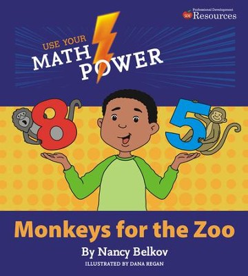 Use Your Math Power Monkeys for the Zoo  -