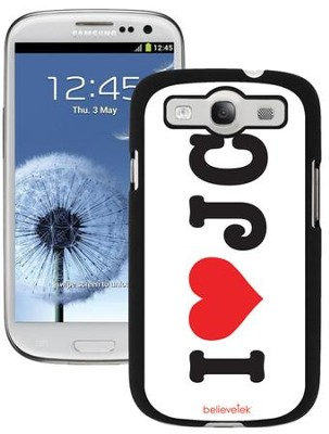 I Heart JC Galaxy 3 Case  -