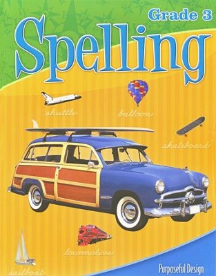 ACSI Spelling Grade 3 Student Edition Revised  -