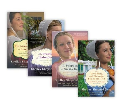 The Amish Brides of Pinecraft Series, Volumes 1-4  -     By: Shelley Shepard Gray