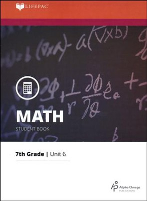 Grade 7 Math LIFEPAC 6: Probability and Graphing (Updated Edition)  -