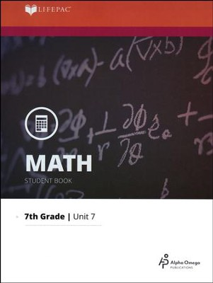 Grade 7 Math LIFEPAC 7: Data Analysis                                        (Updated Editions)  -