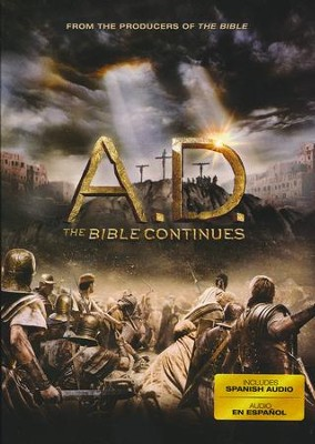 A.D. The Bible Continues, DVD   -