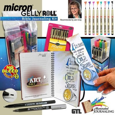 Micron Gelly Roll Bible Journaling Kit  -