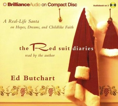 The Red Suit Diaries Abridged Audiobook on CD  -     By: Ed Butchart