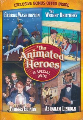 The Animated Heroes: 4 Special DVDs   -