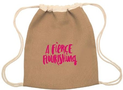 A Fierce Flourishing Drawstring Bag, Mothers Of Preschoolers  -