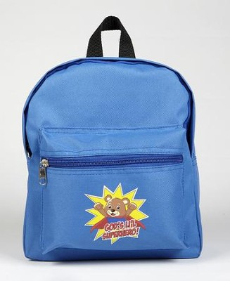 God's Li'l Superhero Backpack  -