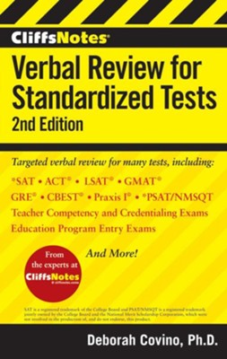 CliffsNotes Verbal Review for Standardized Tests  -     By: Deborah Covino
