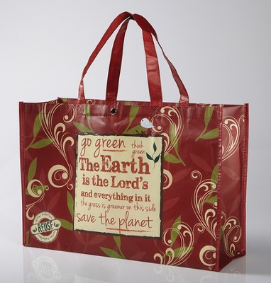 The Earth Is The Lord's, Reusable Shopping Tote Bag  -     By: Miriam Hahn