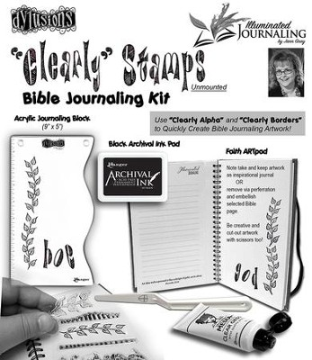 Clearly Stamps Bible Journaling Kit  -