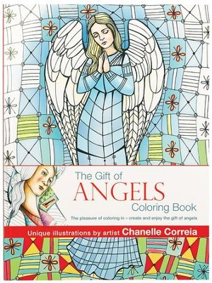 Gift Of Angels Coloring Book  -