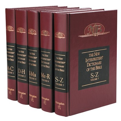 The New Interpreter's Dictionary of the Bible: Five Volume Set  -     Edited By: Katharine Doob Sakenfeld     By: Edited by Katharine Doob Sakenfeld