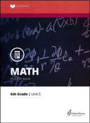 Math Grade 6 LIFEPAC 5: Metric Measures (2015 Updated Version)  -
