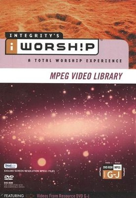 iWorship MPEG Video Library: Volumes G-J   -