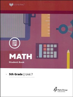 Grade 5 Math Lifepac 7: Division and Metric Units  (2016 Updated Edition)  -