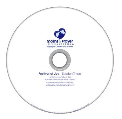 Festival of Joy DVD: Session 3  -     By: Moms In Prayer International