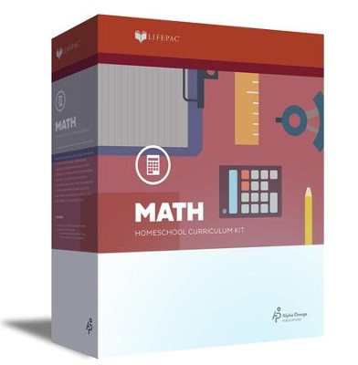 Lifepac Math, Grade 5, Complete Set (2016 Updated Edition)  -