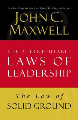 Law 6: The Law of Solid Ground - eBook  -     By: John C. Maxwell