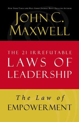 Law 12: The Law of Empowerment - eBook  -     By: John Maxwell