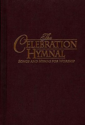 The KJV Celebration Hymnal, Burgundy  -