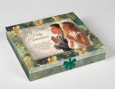 First Communion Deluxe Gift Set, Boy  -     By: Kathy Fincher